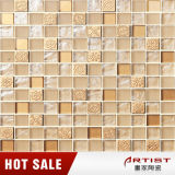 Warm House Yellow Crystallized Glass Mosaic