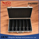 Professional Production Aluminum Frame ABS Panel PVC Inside Cosmetic Cases