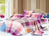Queen Size Printed Microfiber/Polyester Quilt Cover Faric for Bedding Set