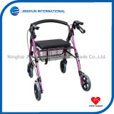 Aluminum Walker Rollator with Basket