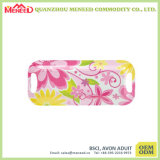 Oblong Shape Pink Flower Full Print Melamine Cake Tray