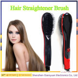 Hot Selling Electric Straightener Hair Brush Digital Hair Straightener Brush