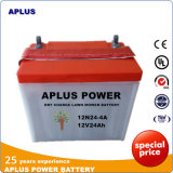 Special Price for 12V24ah Dry Charge Lawn Mower Battery 12n24-4