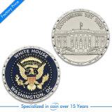 High Quality Goldden Souvenir Diamond Edge Metal Coin