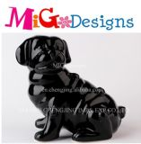 Decor Black Dog Porcelain Outlet Coin Box
