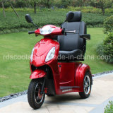 LCD Display High Speed Three Wheel Tricycle Electric Mobility Scooter Cabin Scooter