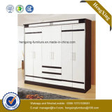 Bedroom Melamine Wardorbe Closet Home Commonly Used Furniture (HX-S2602)