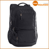 Polyester School Student Backpack Bag for High School Black Backpack