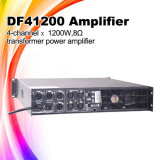 Line Array Audio System Df41200 Power Mixer Amplifier