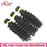Natural Color Long Lasting Top Quality Virgin Brazilian Curly Hair Weave