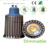 Ce and Rhos Dimmable GU10 9W COB LED Bulb