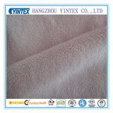 White Velvet Fabric (100% polyester)