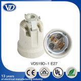 LED Porcelain Bulb Socket E27 with Bracket