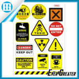 Customized Warning Signs Stickers for Sale