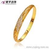 New Fashion 24 Gold Cubic Zirconia Delicate Bangle