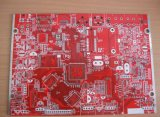 Red 4 Layer Multilayer PCB Board for Electronics