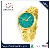 Slim Rhinestone Stainless Steel Geneva Watch Lady Women Girl (DC-178)