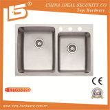 304 Double Bowl Stainless Steel Kitchen Sink of (Ktd3322D)