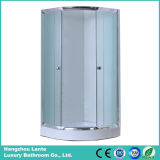 Low Tray Simple Shower Room with Chrome Aluminium Frame (LTS-823)