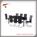 Hot Sale Cheap 1+8 Space Dining Table Set (DT027)