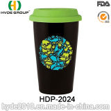 10oz Insulated BPA Free Plastic Coffee Mug (HDP-2024)
