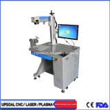 Epoxy Resin Block Fiber Laser Marking Machine with Double Red DOT Positioning