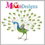 Standing Peacock Wholesale Metal Decor Promotion Gift