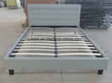 Fabric Platform Double Bed Bedroom Furniture (OL17165)