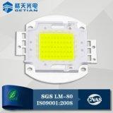 Top 10 LED Manufacturer 5500-6000k CCT High Power 50W COB LED Chip