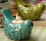 Chinese Antique Furniture Pot with Candle