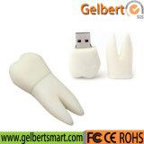 Wholesale Custom Tooth Shape PVC USB Flash Disk