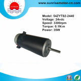 24VDC 0.1n. M 35W Permanent Magnet (PMDC) DC Electric Motor