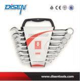 8PCS (6-19) Fine Chrome Dual Plastic Clip Combination Tool Set
