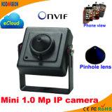 1.0 Megapixe Onvif IP Pinhole Camera