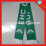 Cheap Customized Printing Polyester Soccer Scarf