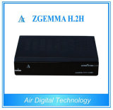 Zgemma H. 2h Original Satellite Receiver DVB S/S2 + DVB T2/C Support Youtube, Youporn, WiFi and Dlna