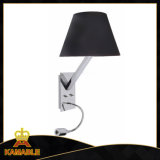 Hotel Project Bedroom Fabric Shade LED Wall Light (MB5049-B)