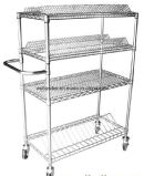 NSF Approval ESD Reel Storage Cart Trolley for Factory