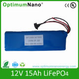 24V 15ah LiFePO4 Battery for Electric Bike with PCM
