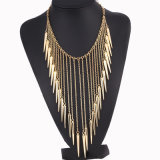 Quality Jewelry Wholesale Multi Layer Tassel Fashion Collar Statment Necklace Jewelry