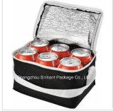 6 Cans Single Shoulder Insulated Cooler Bag