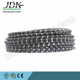 11.5mm Rubber Coated Diamond Wire Saw for Stone Quarry and Reinforce Concrete Cutting