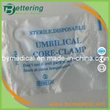 Disposable White Colour Surgical Sterile Umbilical Clamp