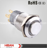 New 16mm Pushbutton with Ring LED Light