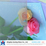 Clear Crystal Patterned Glass Used for Window, Door/Solar