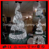 IP65 Cold White LED Spiral Christmas Tree