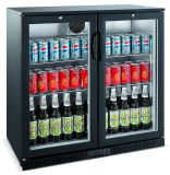 CE\RoHS\GS Under Counter Bottle Beer Cooler with Double Doors (LG-208H)