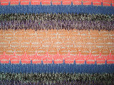 Thick Needle Silver Stripe Knitting Fabric