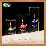 Creative Transparent Glass Oil Lamp as Unique Wedding Gift