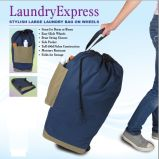 2017 Laundry Bag with Wheels New Design
